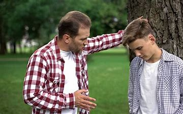 Image result for free picture of father scolding child