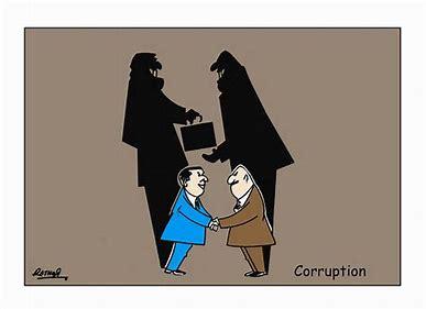 Résultat d'images pour caricature corruption rigolote