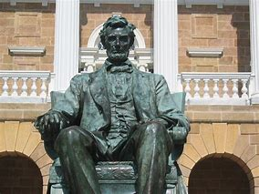 Image result for flickr commons images University of Wisconsin-Madison Lincoln Statue