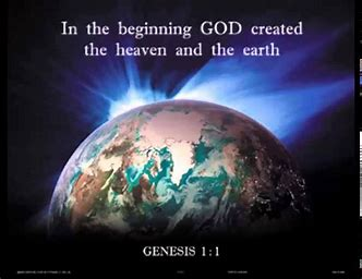 Image result for God created the world