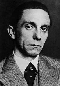 Image result for Joseph Goebbels