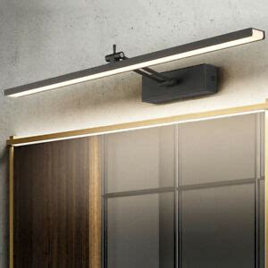 led wall mounted light makeup mirror front lamp fixture