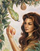 Image result for Satan and Eve in the Garden of Eden