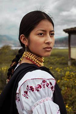 Image result for images beautiful ecuadorian indian woman