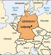 Image result for leipzig map germany