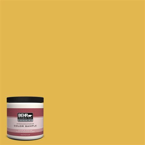 behr premium plus ultra oz d yellow gold matte
