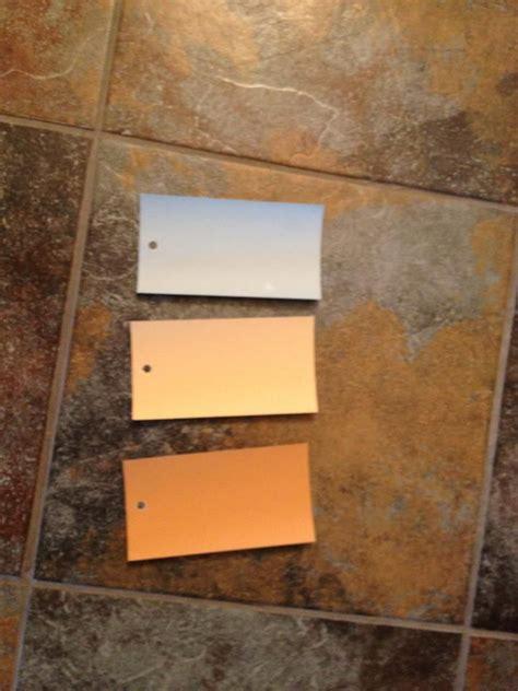 wall colors match tile benjamin moore
