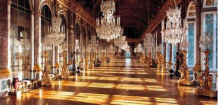 Image result for images the great hall of mirrors versailles
