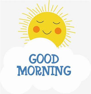 Image result for good morning clipart