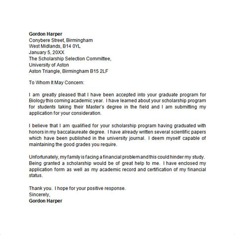 FREE APPLICATION LETTER TEMPLATES IN MS WORD PDF