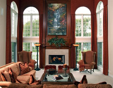 window treatments for great rooms interiors by mary susan