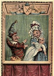 Image result for images punch and judy 19th century