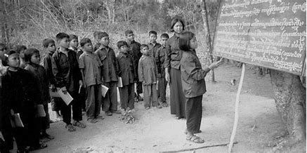 Image result for images pol pot khmer rouge reeducation camps
