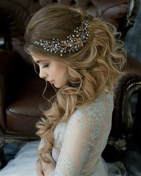 lavish wedding hairstyles for long hair wedding