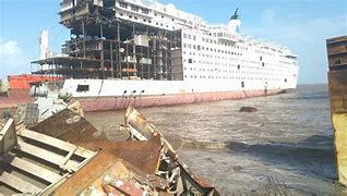 Image result for pacific sun/henna cruise ship scrap