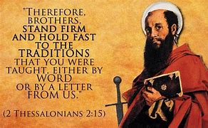 Image result for apostolic tradition