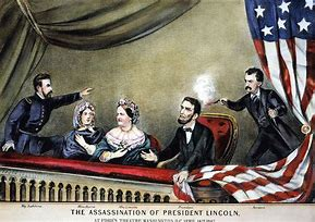 Image result for assassination of lincoln