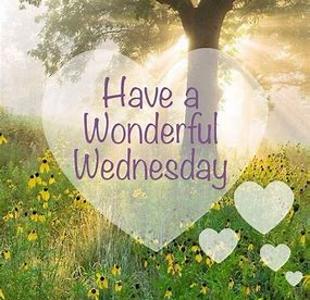 Image result for wonderful wednesday