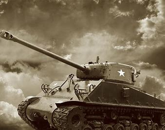 Image result for images of WWII American tanks