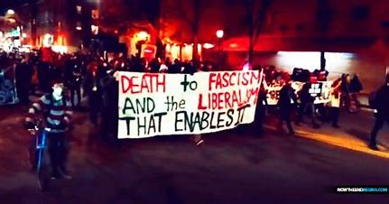 Image result for ANTIFA rioters