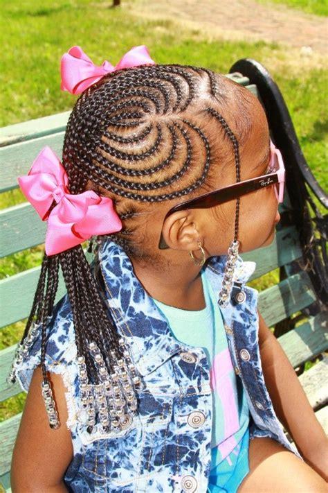 best kids braid images on pinterest hair dos black