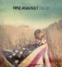 Image result for rise against endgame album cover