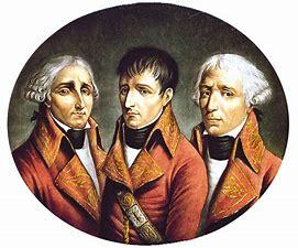Resultado de imagen de los tres franceses