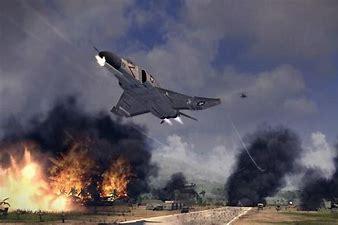 Image result for images f-16 fighter napalm over vietnam