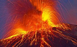 Image result for photos volcano eruptions