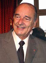 Résultat d'images pour Jacques Chirac