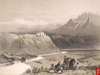 Image result for image 19th century kashmiri brahaman palaces kashmir