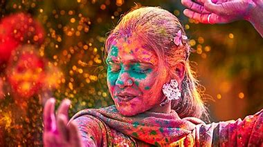 Image result for indian colour festival