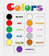 Obraz znaleziony dla: kolory angielski