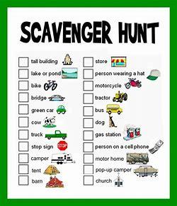 Image result for scavenger hunt challenge