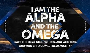 Image result for free pic of God is the alpha and omega