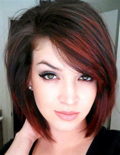 long bob hairstyles for thin hair chestnut color long