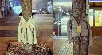 Image result for bulgarians coats on trees