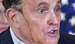 Image result for rudy giuliani sweat