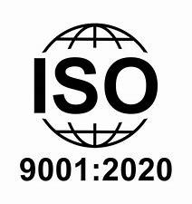 Résultat d'images pour logo iso9001 2020