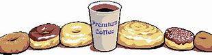 Image result for coffee and donuts anamitated