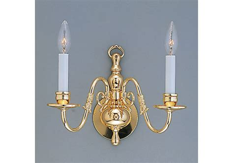 flemish wall sconce arm brass gallery