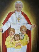 Obraz znaleziony dla: Jan paweł II z dziećmi