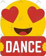 Image result for DANCE Emoji