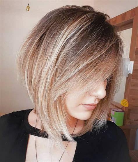 TRENDY CHOPPY LOB HAIRCUTS FOR WOMEN BEST MEDIUM HAIR