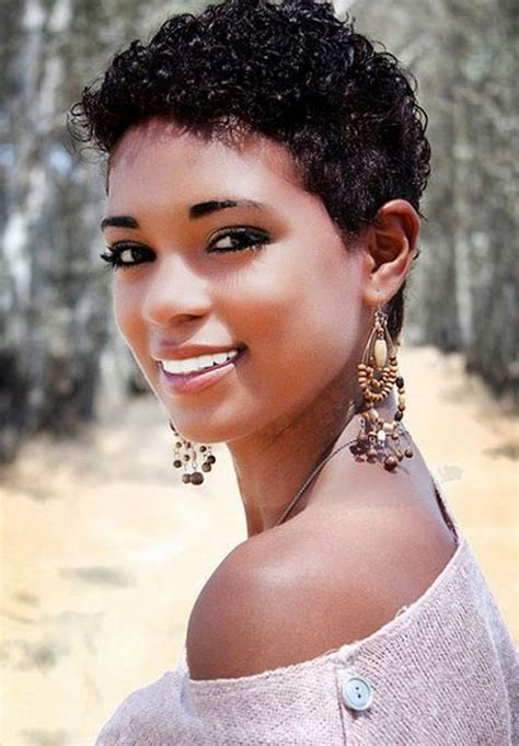 COOL SHORT NATURAL HAIRSTYLES FOR WOMEN PRETTY DESIGNS