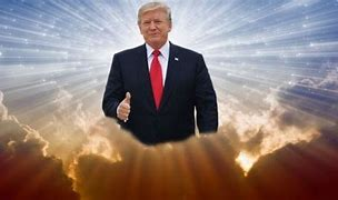 Image result for cartoon trump ascending to heaven