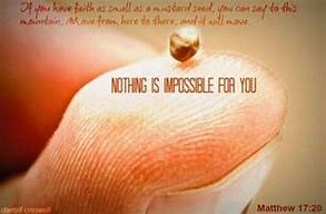 Image result for Mustard Seed Faith Scripture