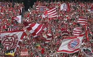 Image result for munich football fans