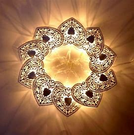 Image result for free images of garland of heart-lights