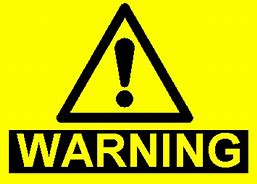 Image result for warning signs
